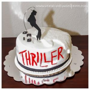 MJ Thriller Fondant Cake