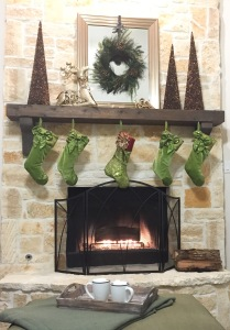 Warm Inviting Christmas Fireplace